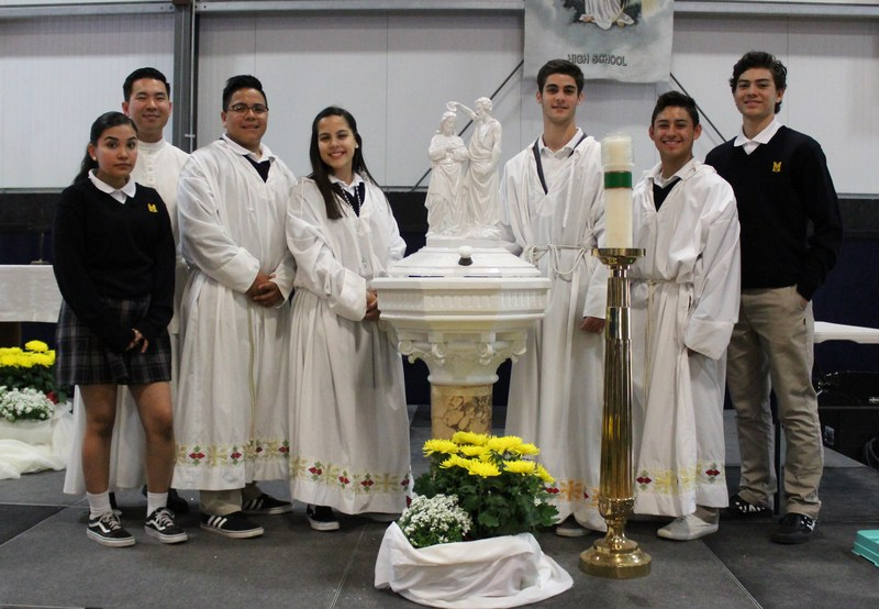 MSHS Students Receive Sacraments Featured Photo