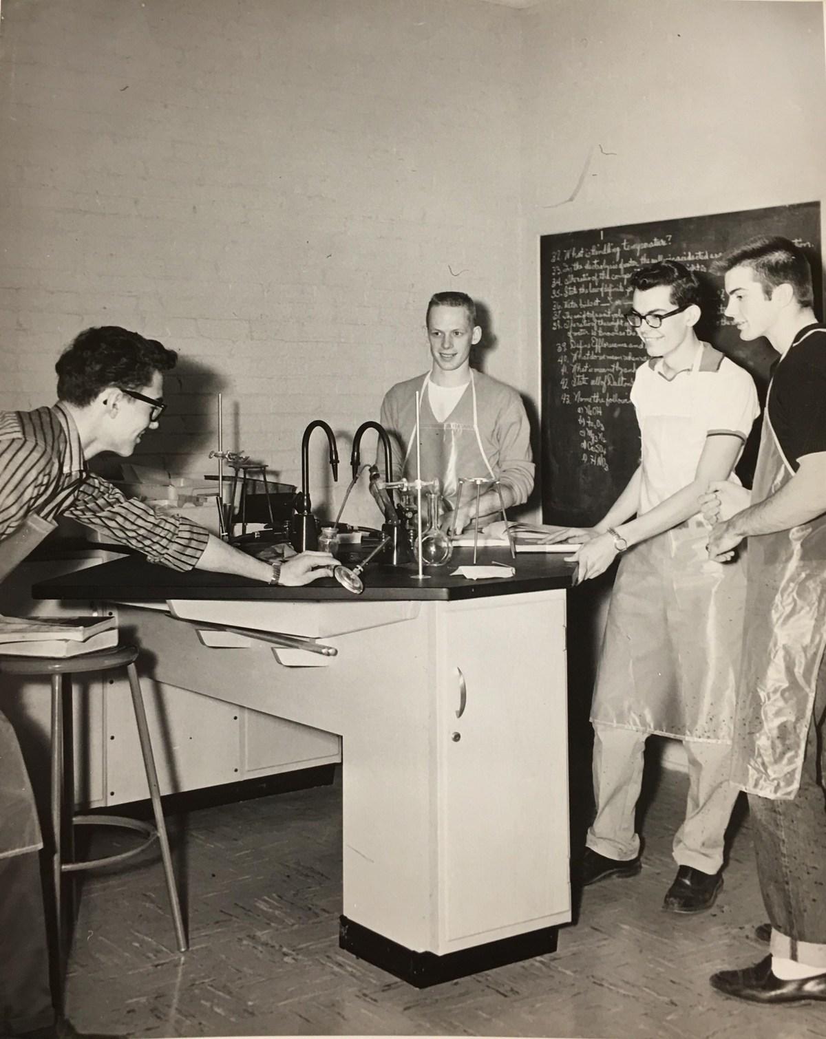 Retro ISD Science Class