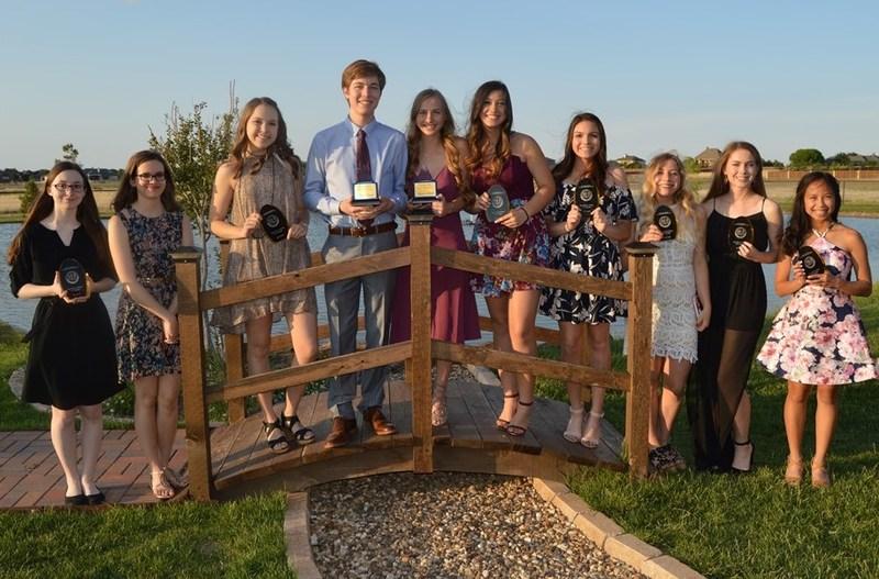 Frenship High School Top 10 Academic Seniors