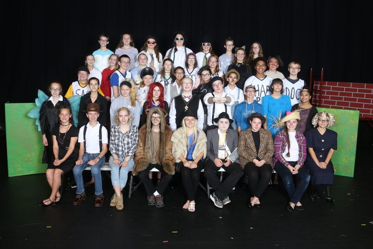AAJHS Fall Play Cast