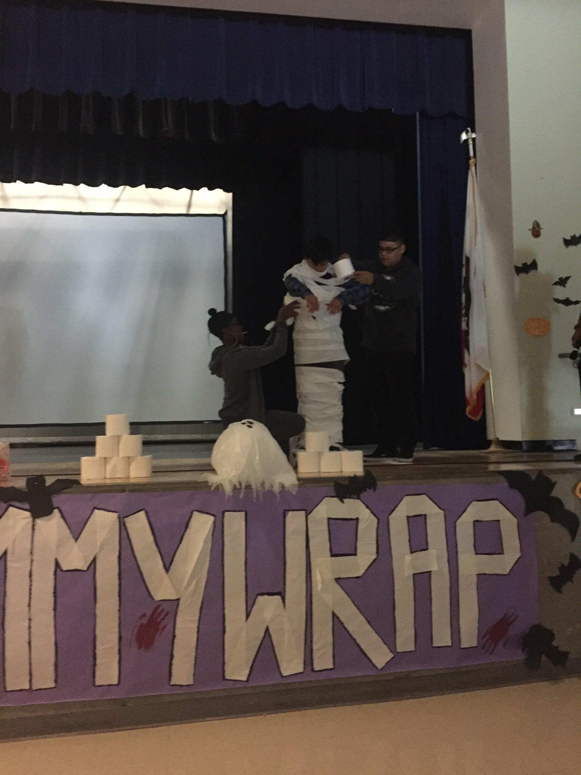 Mummy Wrap 2016