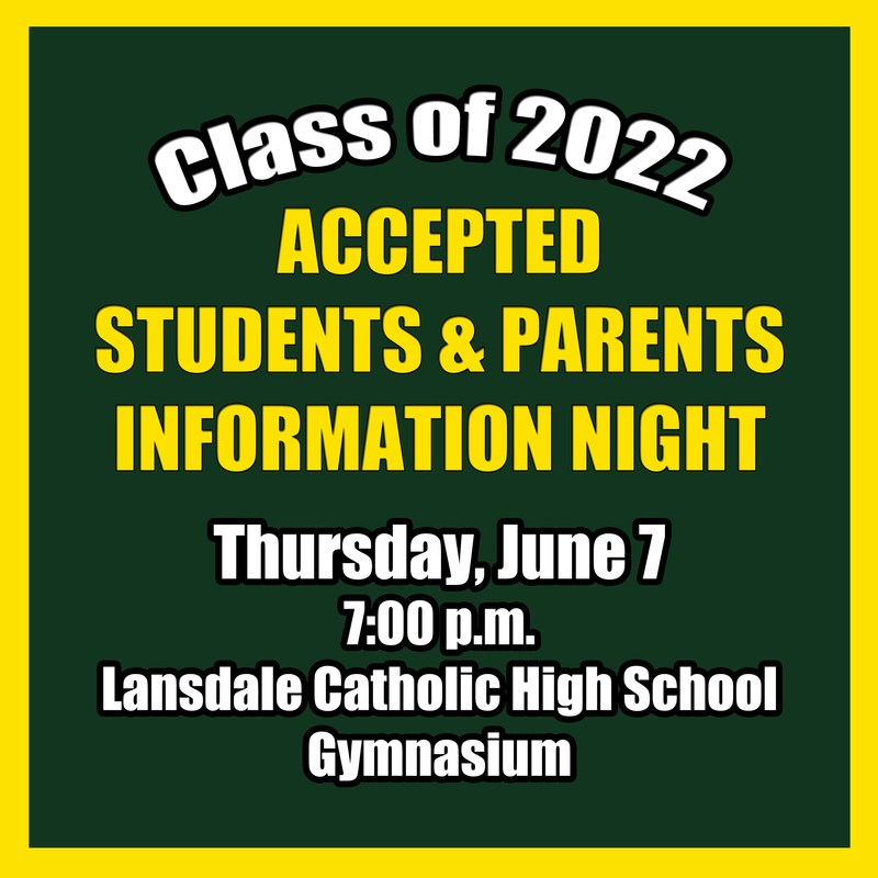 Class of 2022 - Save the Date - June 7, 2018 Featured Photo