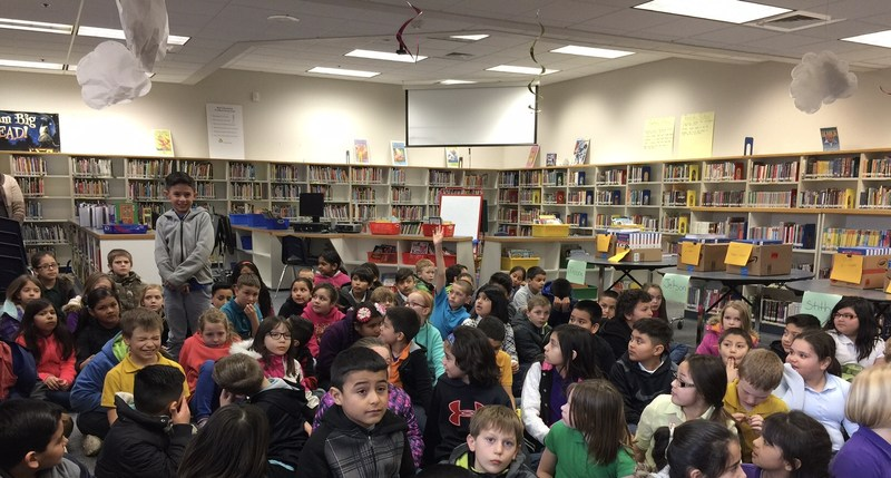 Kiwani's Club gives 3rd grade students at LC their own dictionary! Thumbnail Image