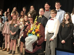 2018 Mary Ludeman Teacher of the Year
