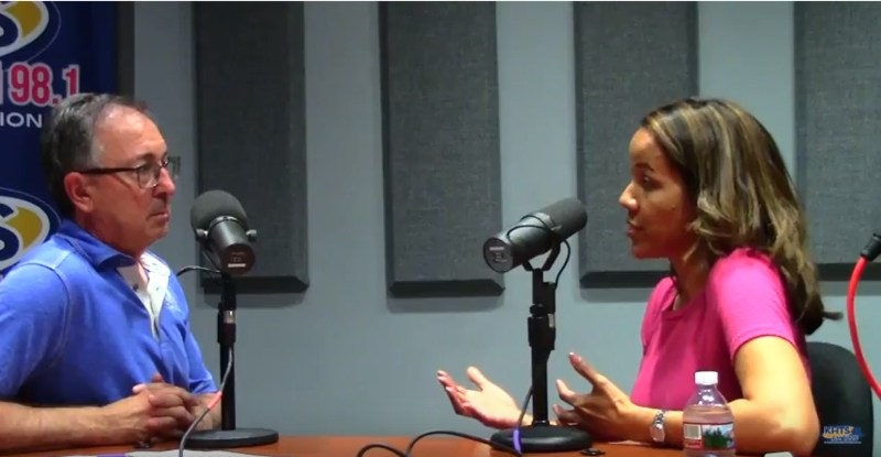 Carl Goldman interviews Melanie Hagman for KHTS