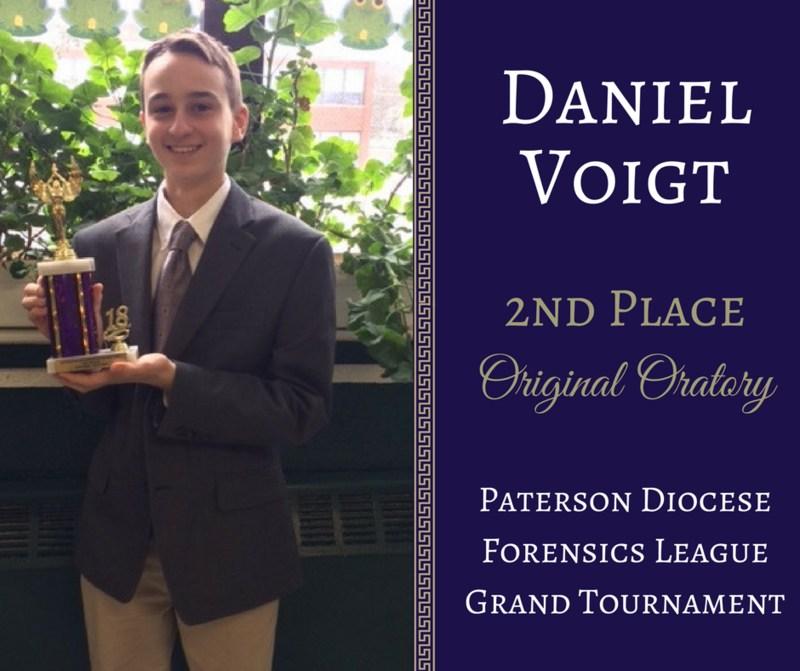 Congratulations to Daniel Voigt Thumbnail Image