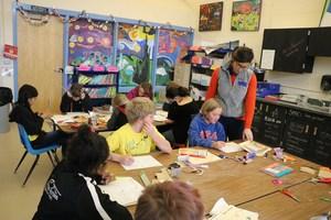 Florida Mesa Art Class