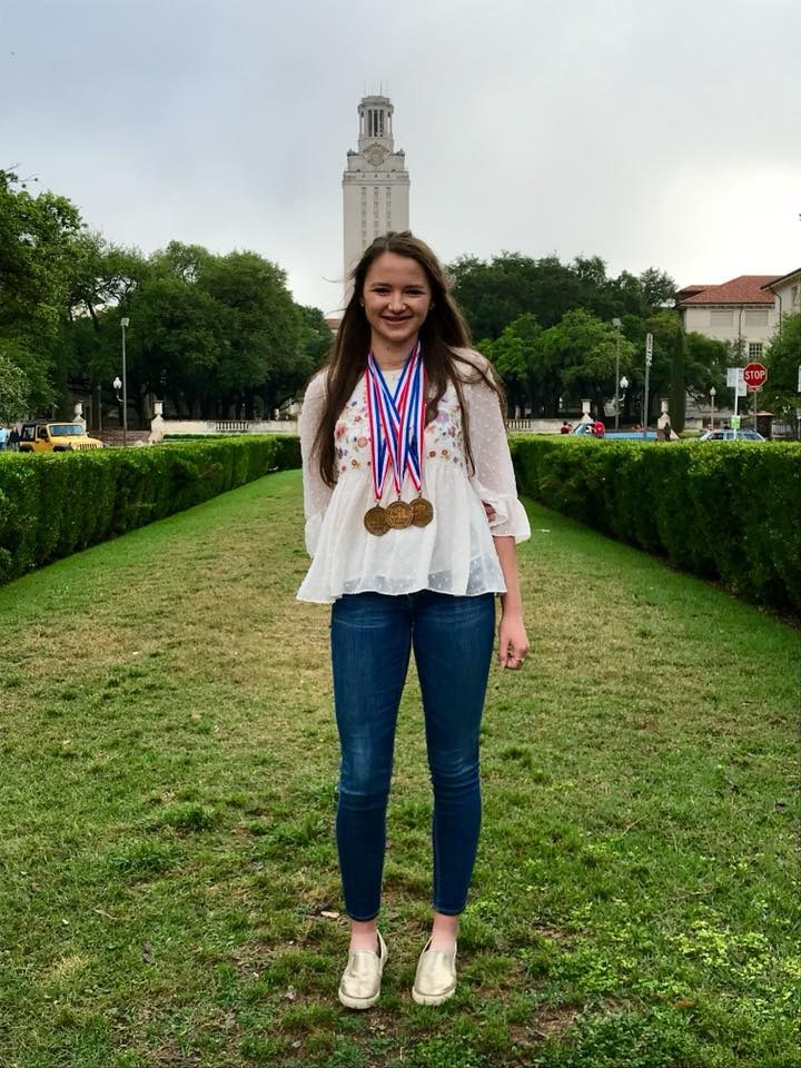 Sloan Townsend-UIL Academic State Meet - medaled in 3 events