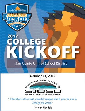 College Kick Off Day