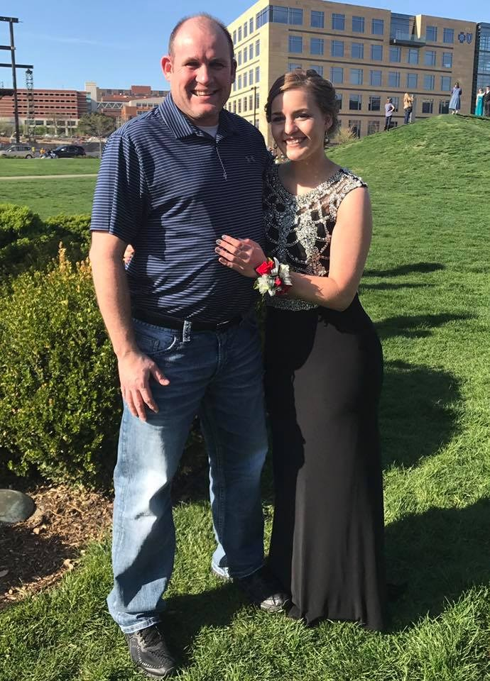 Prom with my daughter
