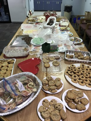 PTSO Cookie Exchange Display