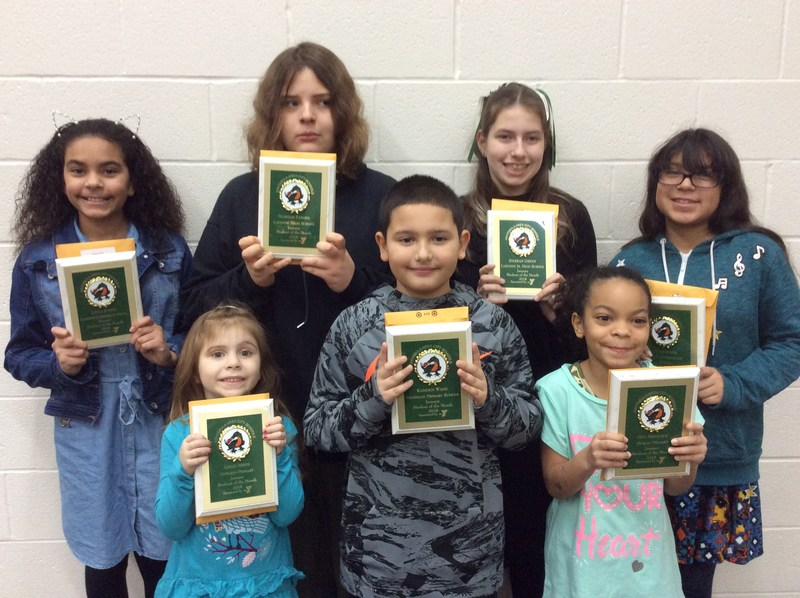 Congrats to the January Students of the Month Featured Photo