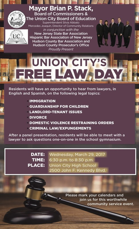 UC FREE LAW DAY SEMINAR FLYER
