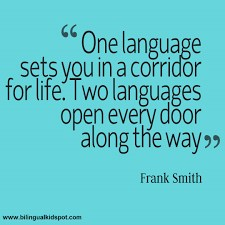 one language and two languages