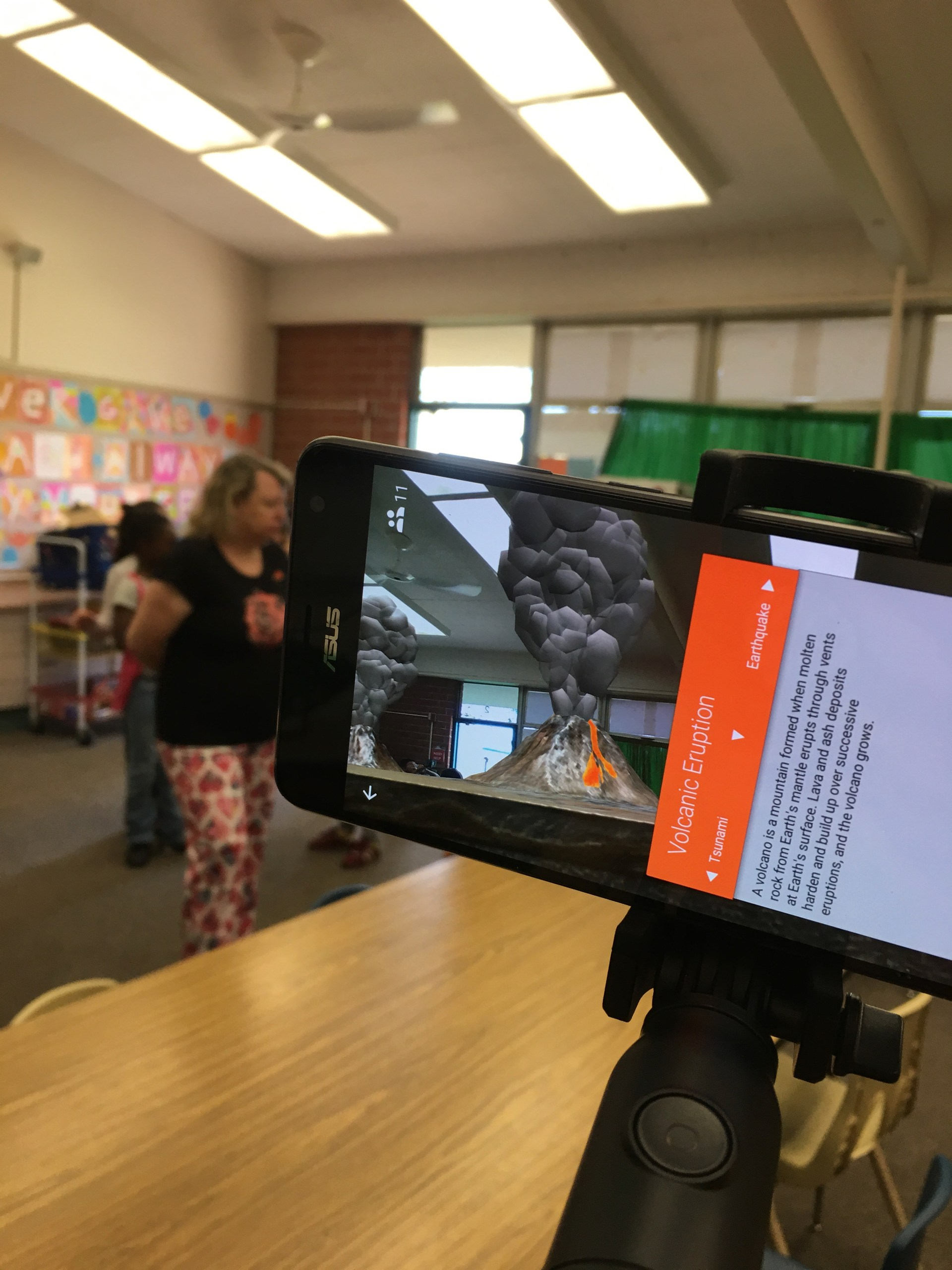 Google Augmented Reality Lessons