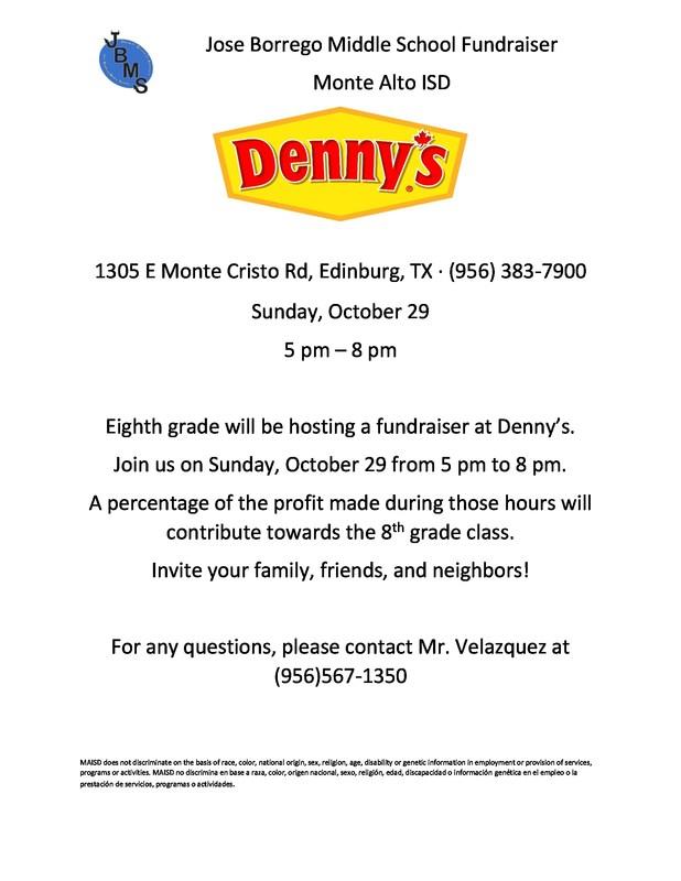 Denny's Fundraiser