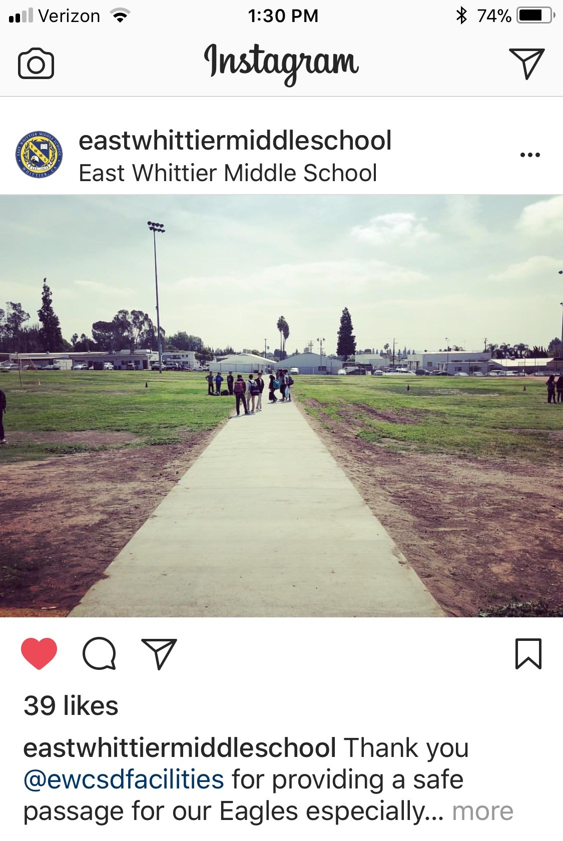 ewms walkway