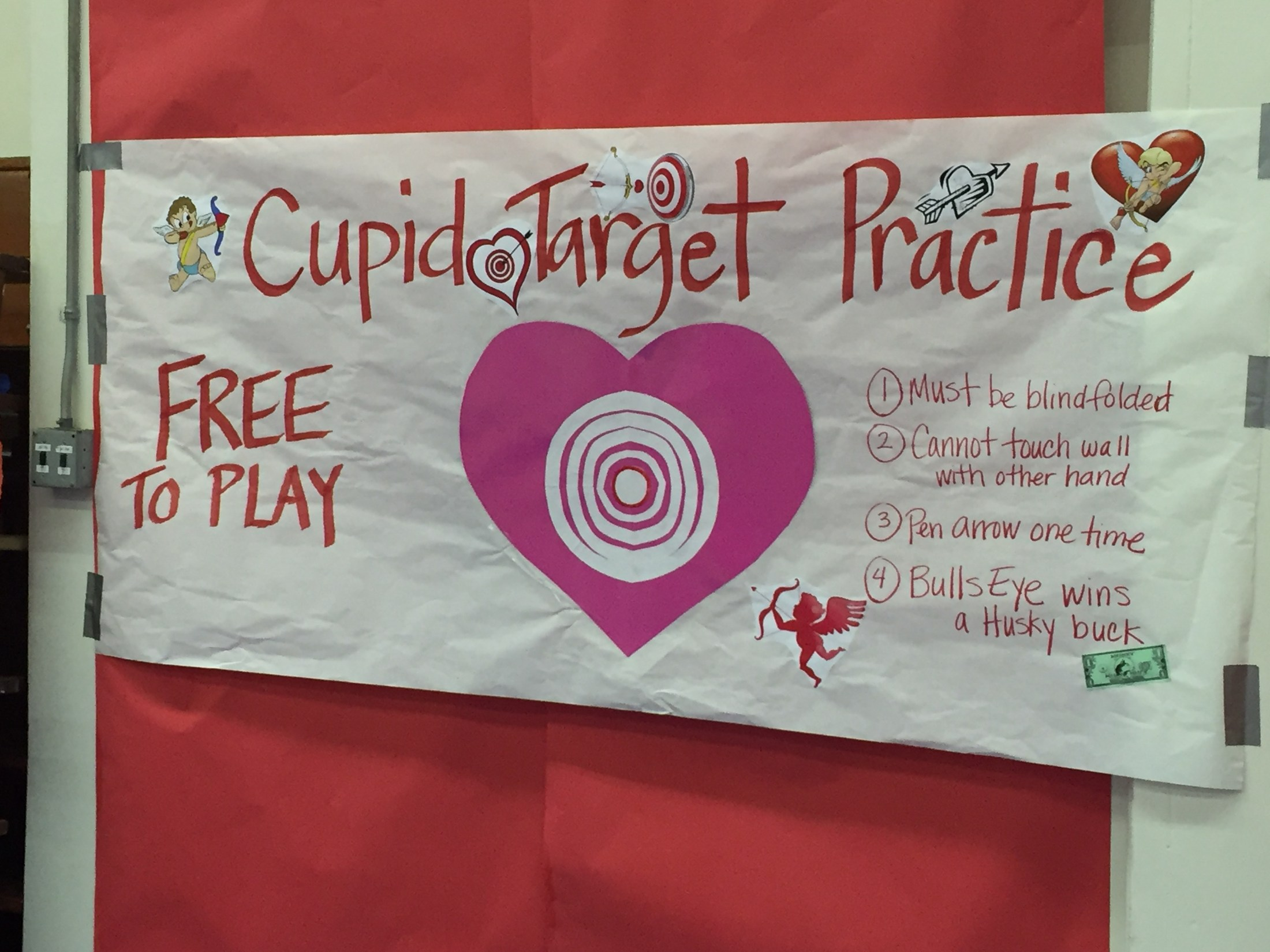 Sign for Cupid Target Practice game