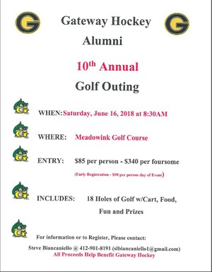 Golf Outing June 16, 2018