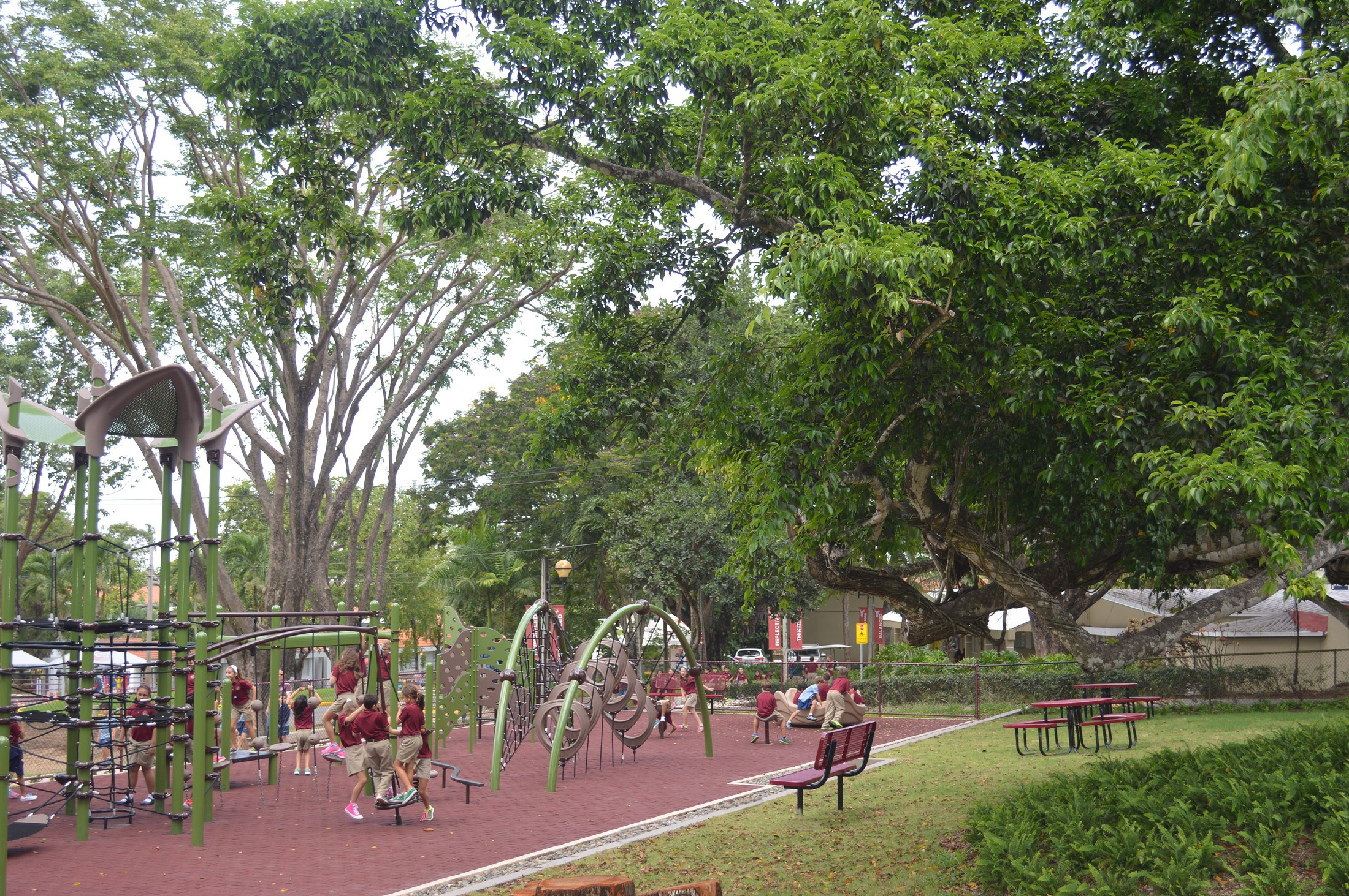 Baldwin School playground
