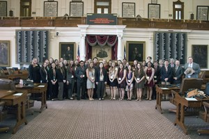 Student Leadership with Cecil Bell on the House Floor.jpg