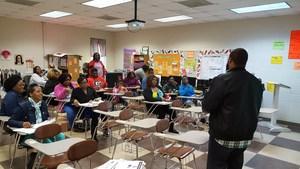 Jarrell Florence, 8th grade ELA Teacher, answers questions regarding Georgia Milestones Assessment System