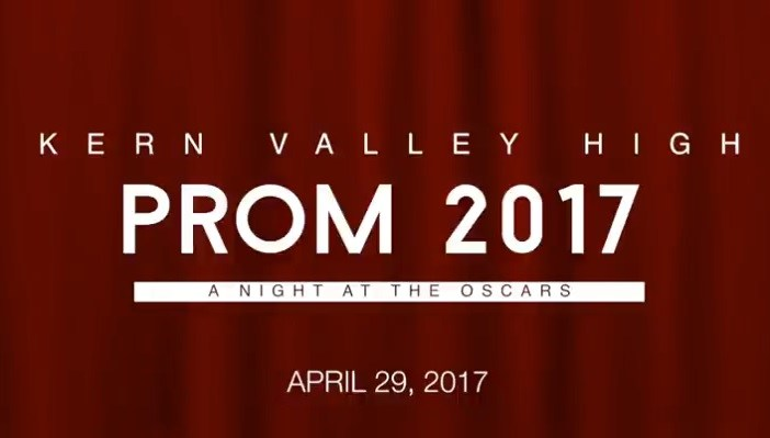 The PROM is COMING to KVHS! Thumbnail Image