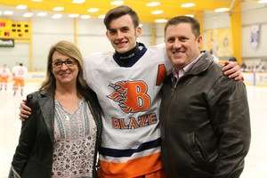 Colton Tincher and parents