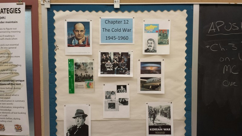 Cold War Bulletin Board