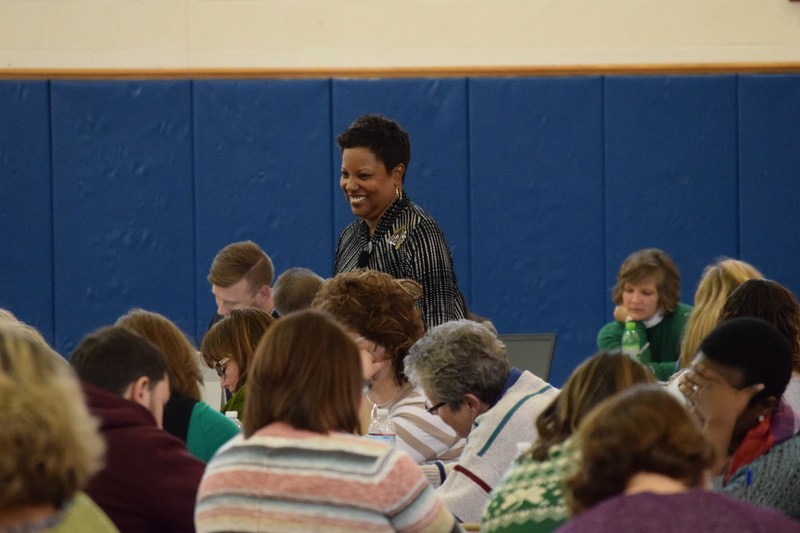 Dr. Marcia Tate speaks and motivates North Country educators Thumbnail Image