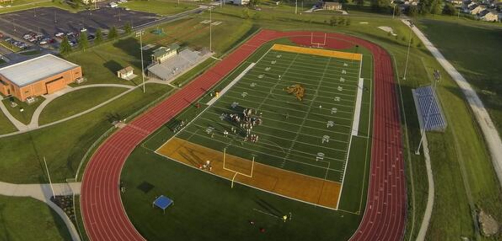 Aerial View of BLHS Football Field