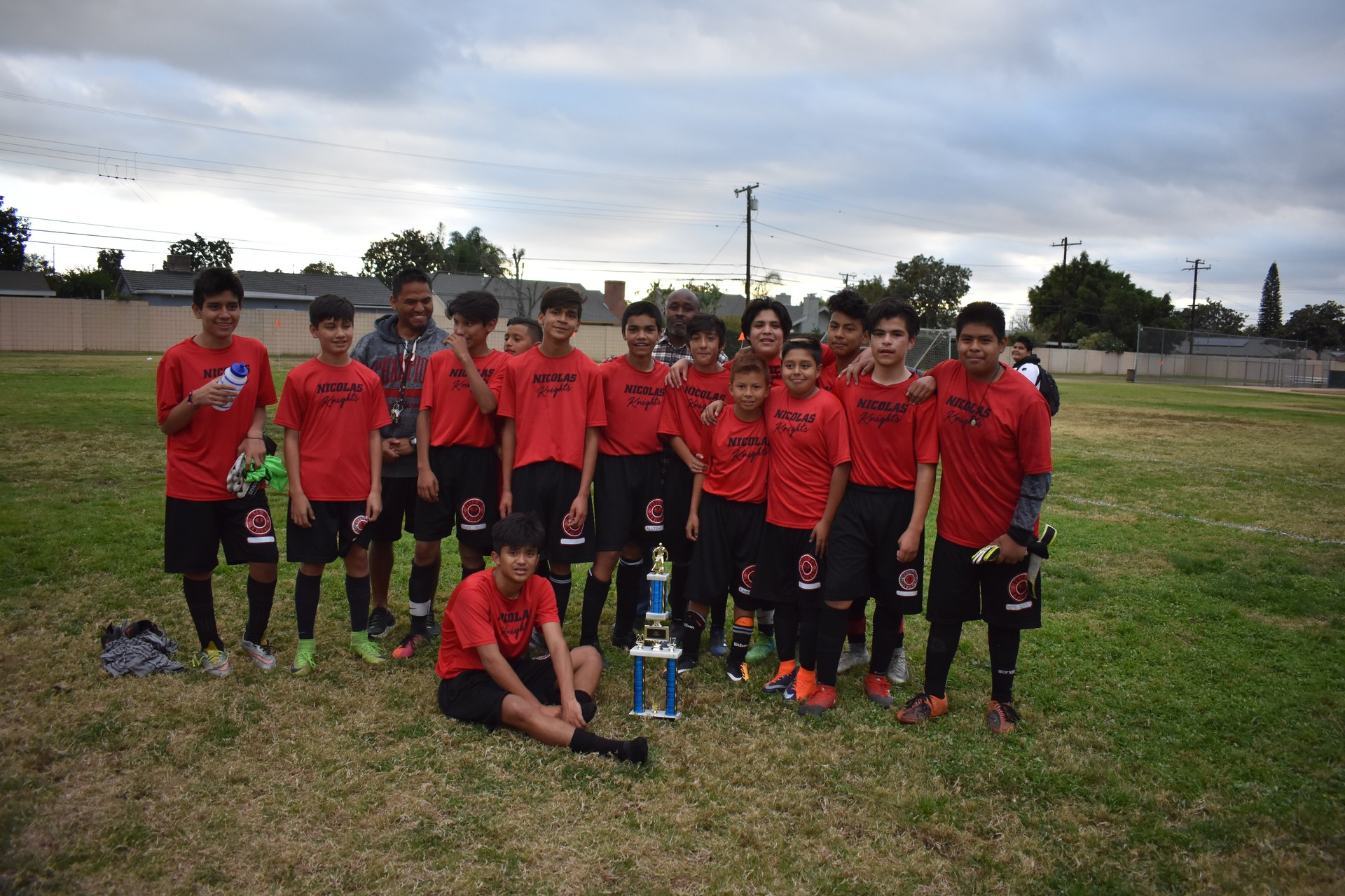 Boy's Soccer 1st Place in FSD League