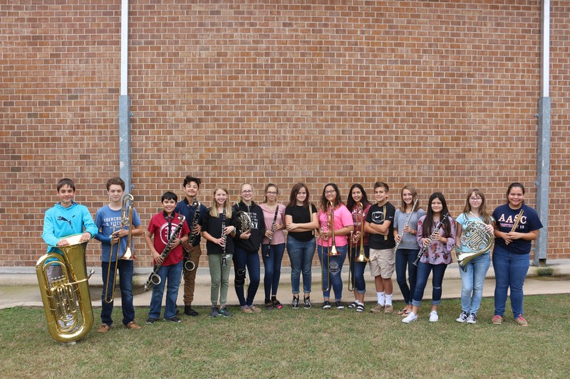 FMS region band students