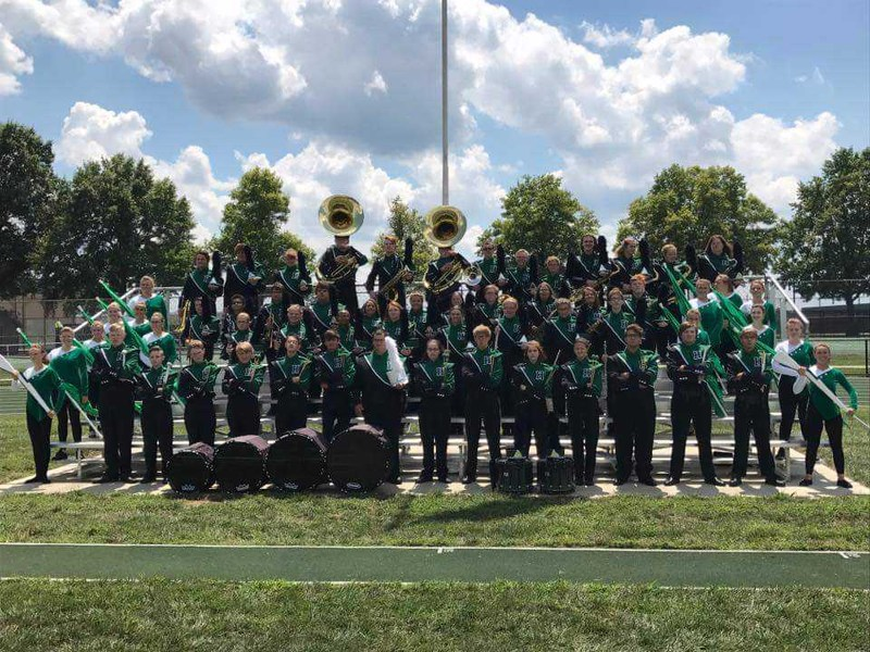 High School's Marching Band Busy This Fall Thumbnail Image