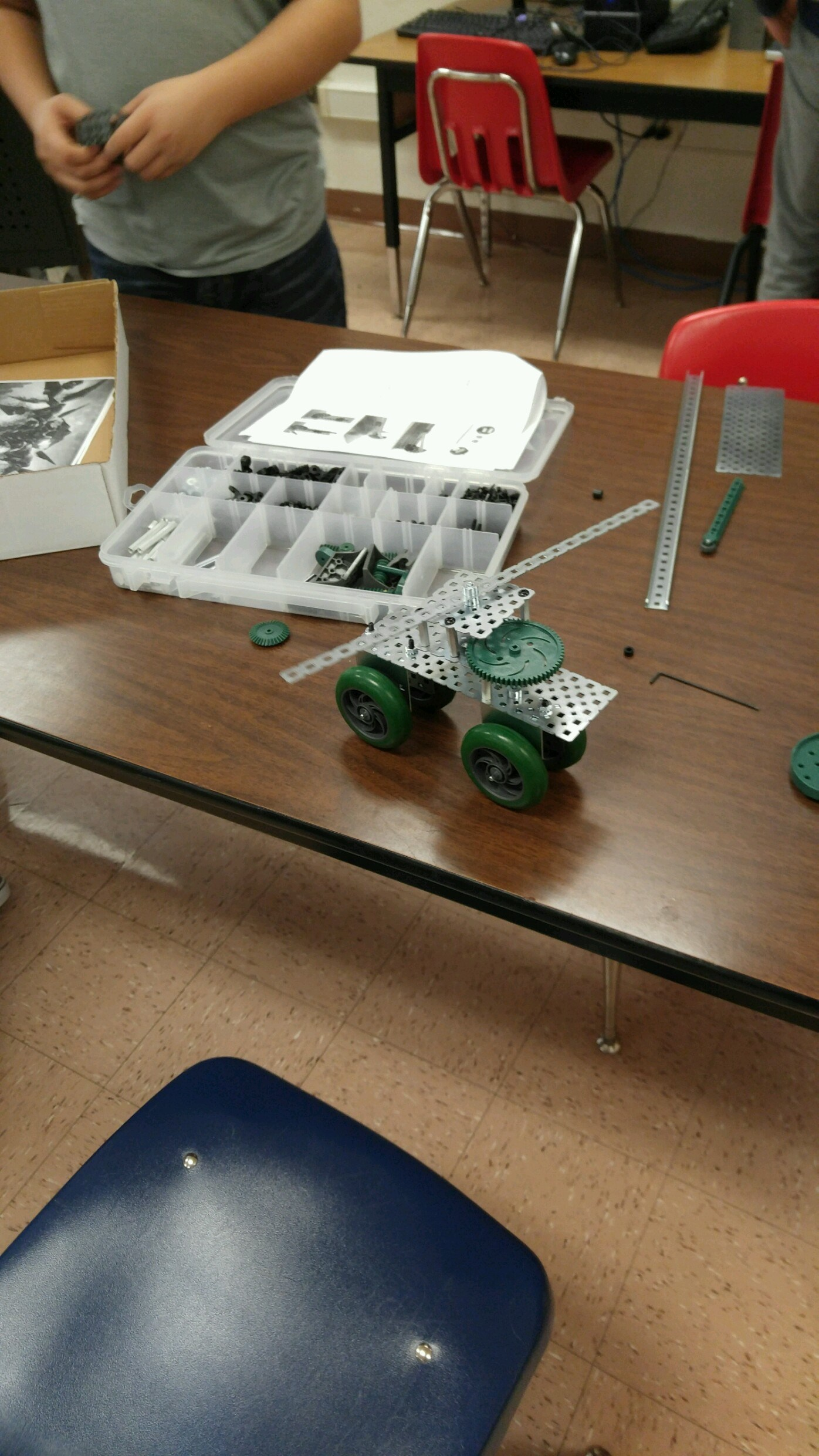 Technology And Project Lead The Way Electives Department  # Model Table Telz En Bois