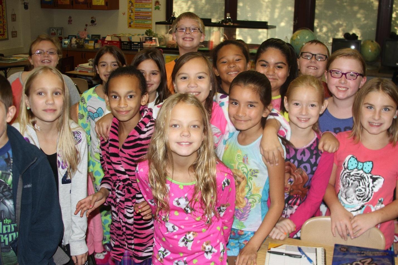 Merritt Elementary Students