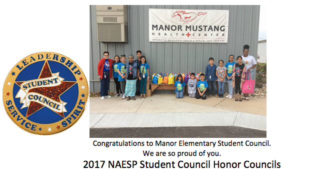 Congratulations to the Manor Elementary School Student Council Thumbnail Image