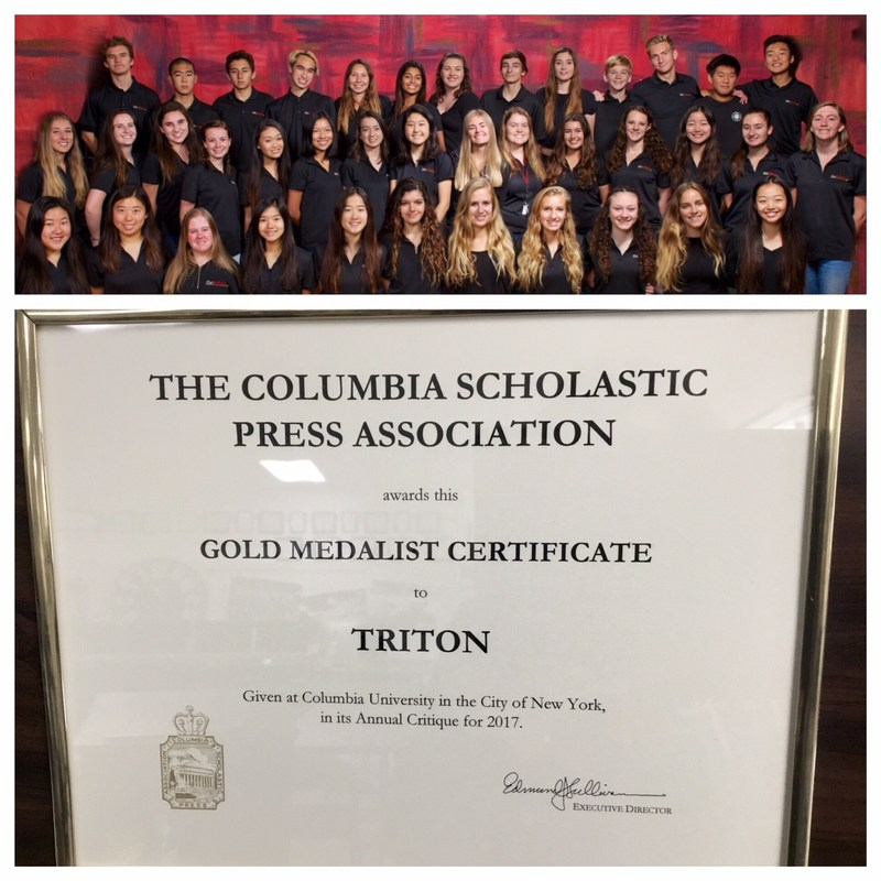 TRITON YEARBOOK RECEIVES TOP HONORS FROM COLUMBIA Thumbnail Image