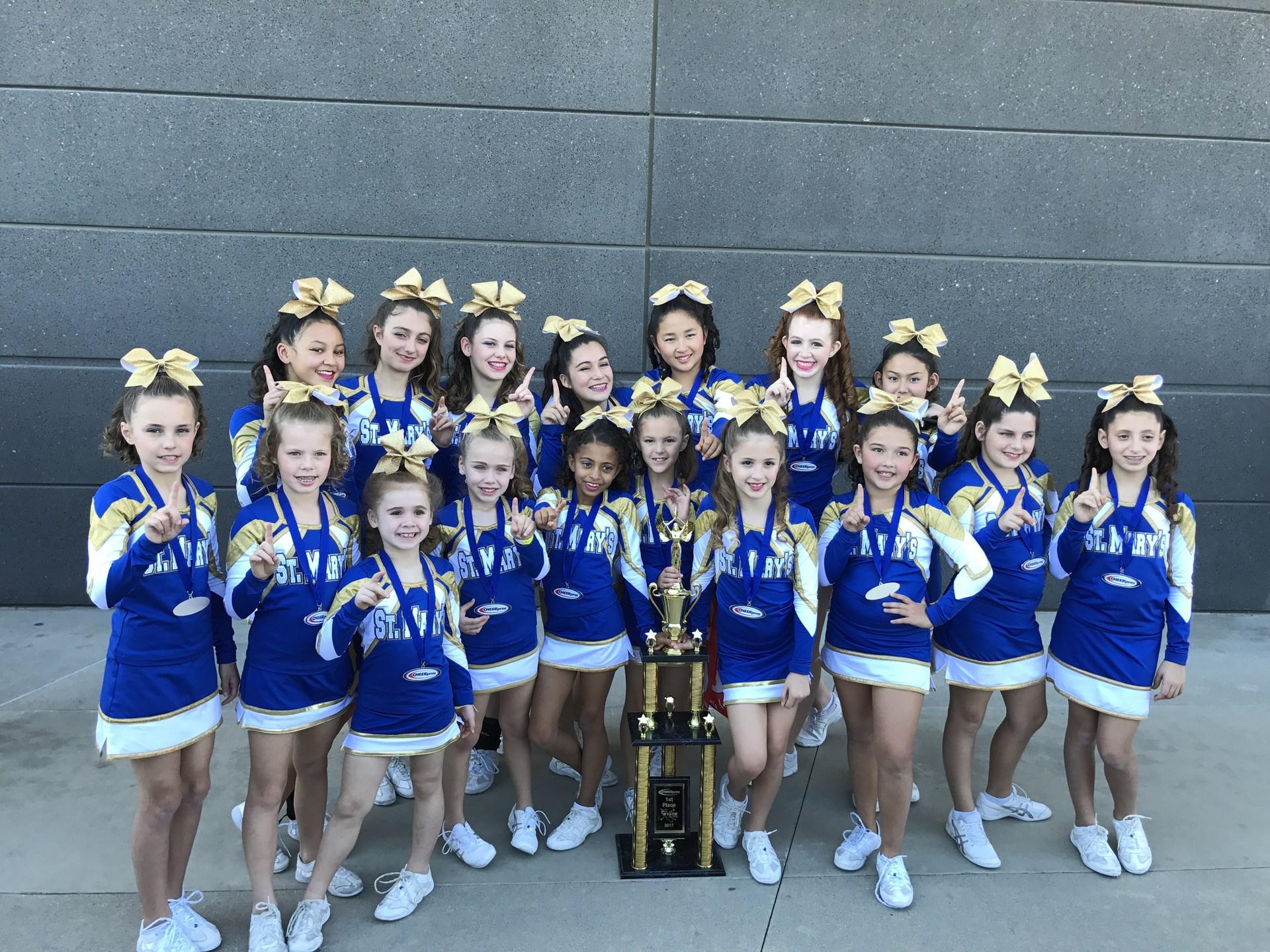 whole cheer team