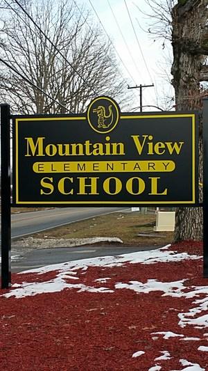 Photo of School Sign