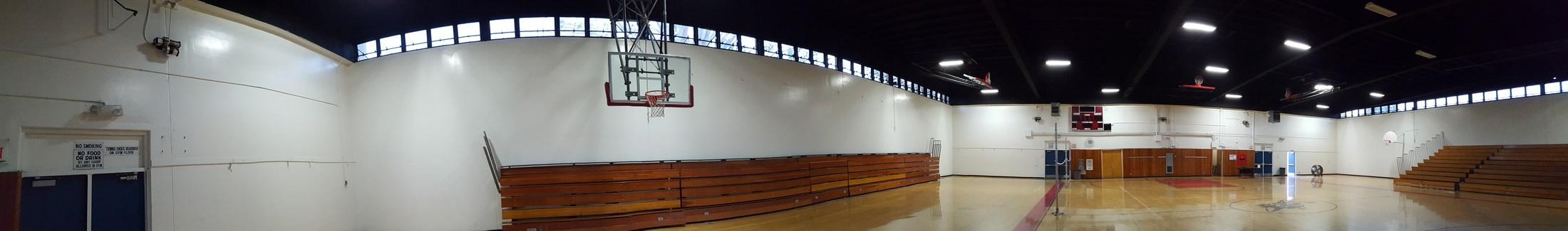 Wide angle of Alessandro/Santa Fe gymnasium