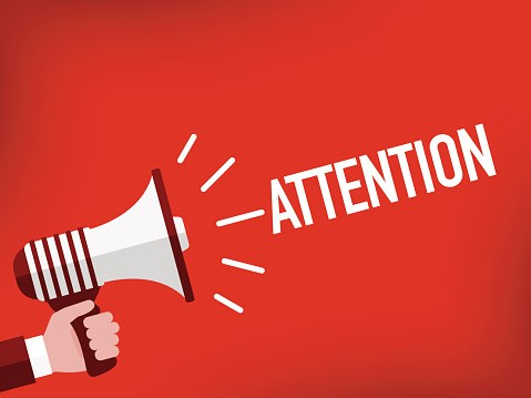 Vector Graphic: Attention Sign