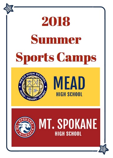 List of Summer Camp for Mead Students.
