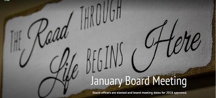 January 2018 Board Meeting Highlights Thumbnail Image