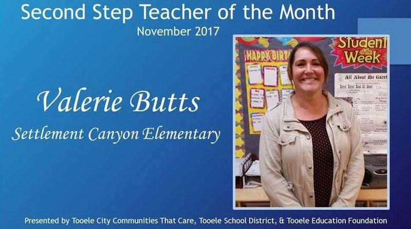 Teacher of The Month November Thumbnail Image