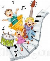 CHILDREN WITH MUSICAL INSTUMENTS