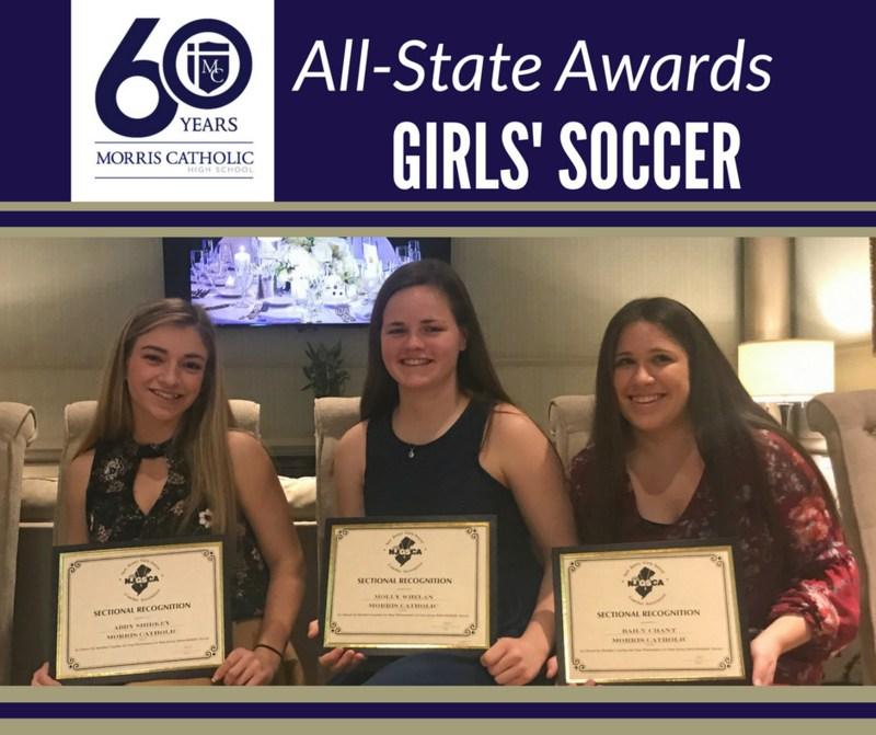 Girls' Soccer Named All State Thumbnail Image