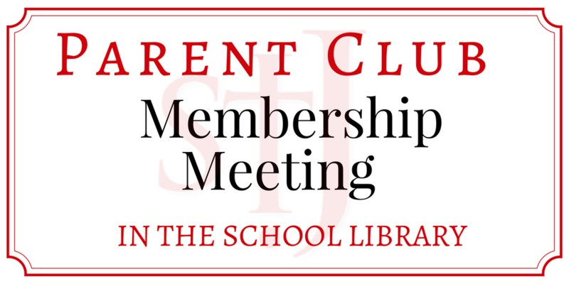 Parent Club Membership Meeting Featured Photo