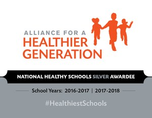 Silver Award graphic from the Alliance for A Healthier Generation