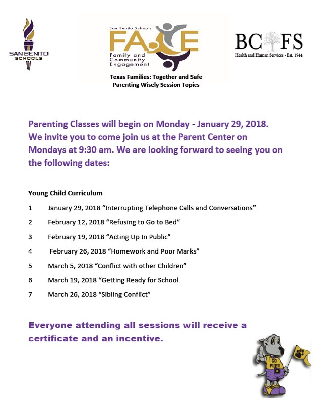 Parenting Class at Ed Downs